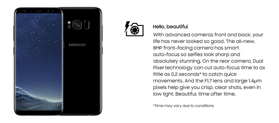 Samsung Galaxy S8 - Hello, beautiful