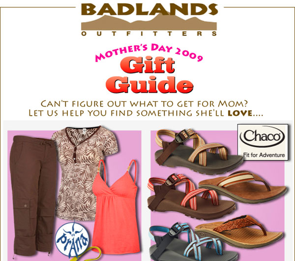 Gift Guide for Mom's Day, at Badlands Outfitters