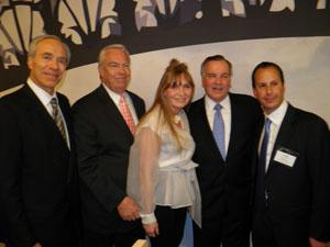 Bob Wislow, Bill Kurtis, Donna LaPietra, Mayor Daley, Sebastien Bensidoun