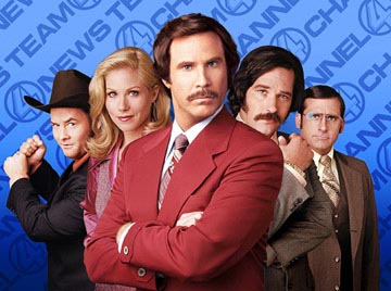 Will Ferrell's Anchorman at Mayne Stage, Nov. 16