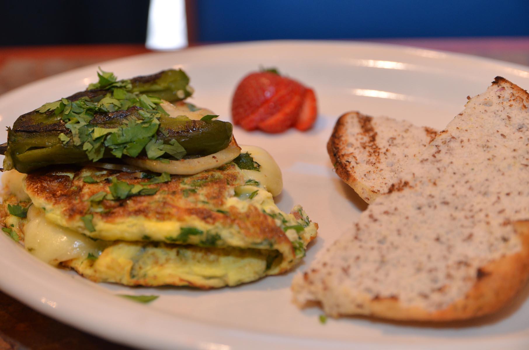 Omelette resize