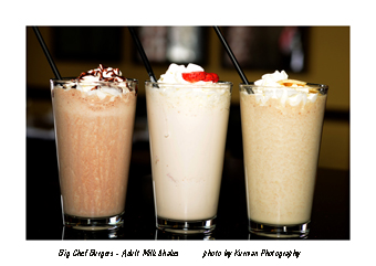 Trio of Milkshakes KCI1486 et
