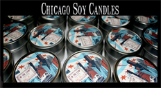 Chicago Candle