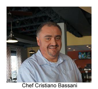 Chef Cristiano Bassani headshot et