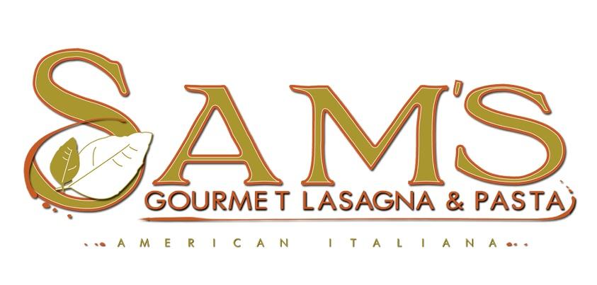 Sam's Gourmet Lasagna CORRECT LOGO
