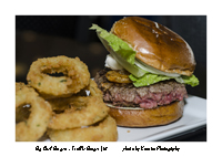 Onion Rings and Truffle Burger KCI1539 et