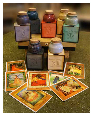 Tarot Perfume collection 300 pixels w border