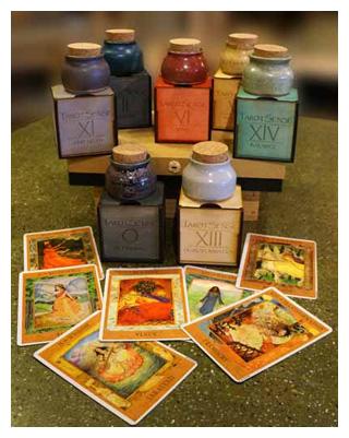 Tarot Perfume collection 300 pixels w border