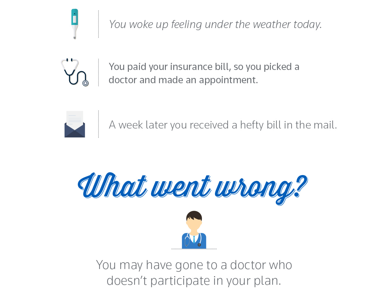 Why it pays to see a doctor in your plan