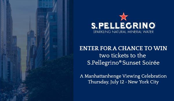 San Pellegrino® - Manhattanhenge