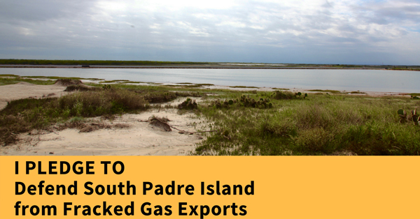 Take the pledge to defend South Padre Island