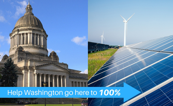 Help Washington go from the Capitol to 100% clean electricity