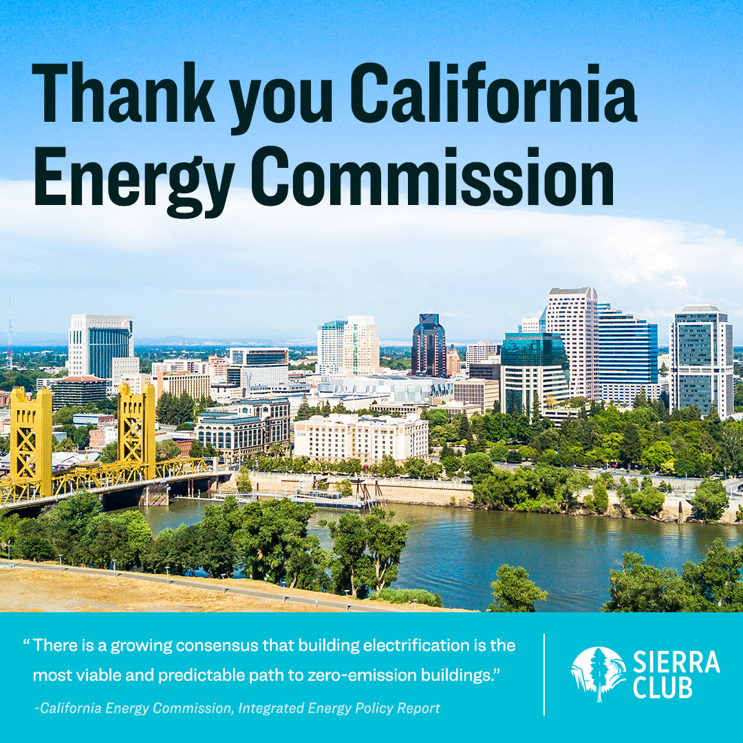 Thank you California Energy Commission
