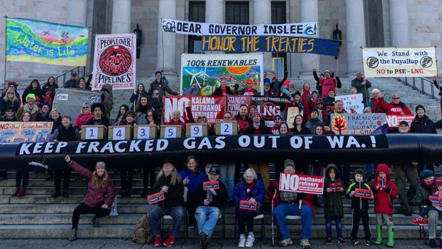 Keep Fracked Gas out of WA