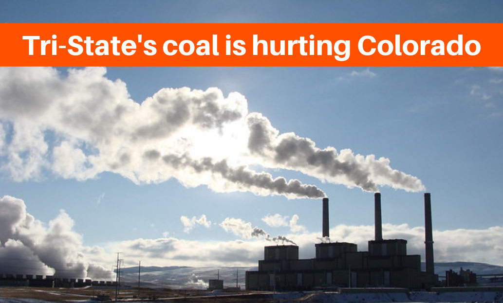 Colorado coal is hurting our climate. That's why we need to make Tri-State bring more clean energy to Colorado.
