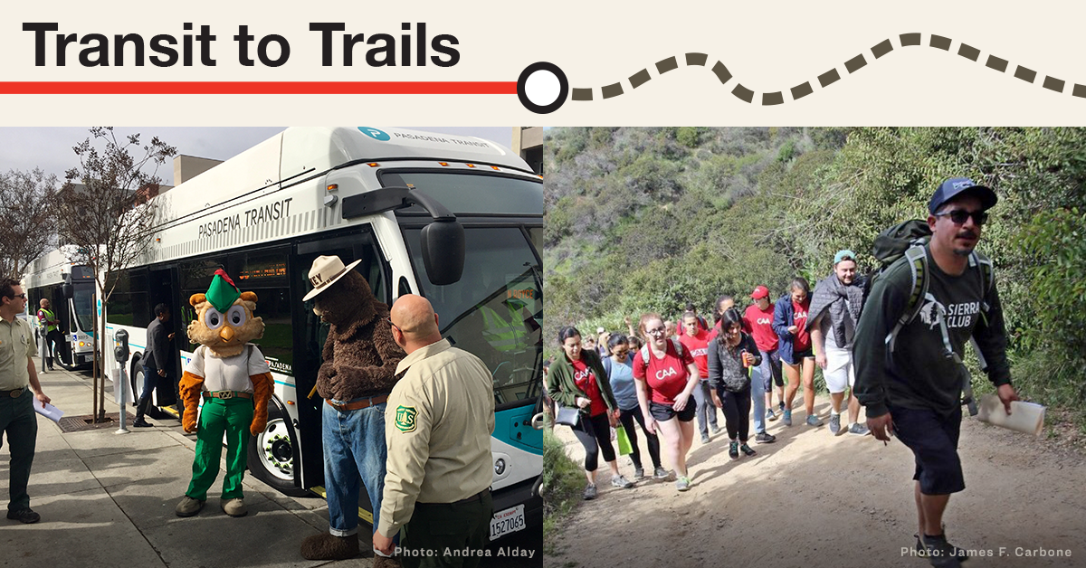 Pasadena Sierra Club Transit to Trails Outing