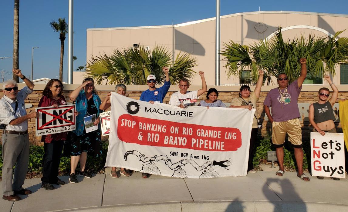 Tell FERC by Jan. 20: Stop the massive fracked gas Rio Bravo Pipeline!