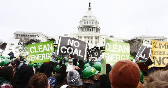 No Coal Capitol Protest