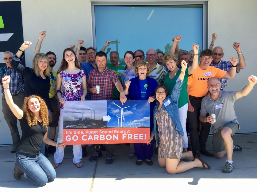 Join the chorus: no coal, no gas, no LNG!