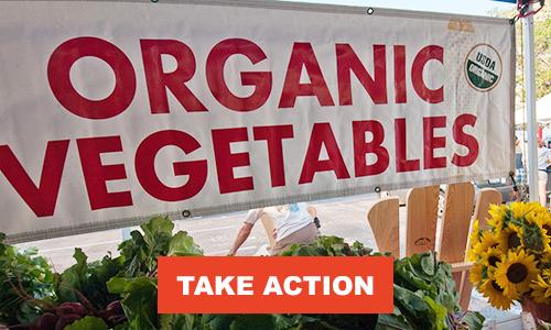 Fund organic research!