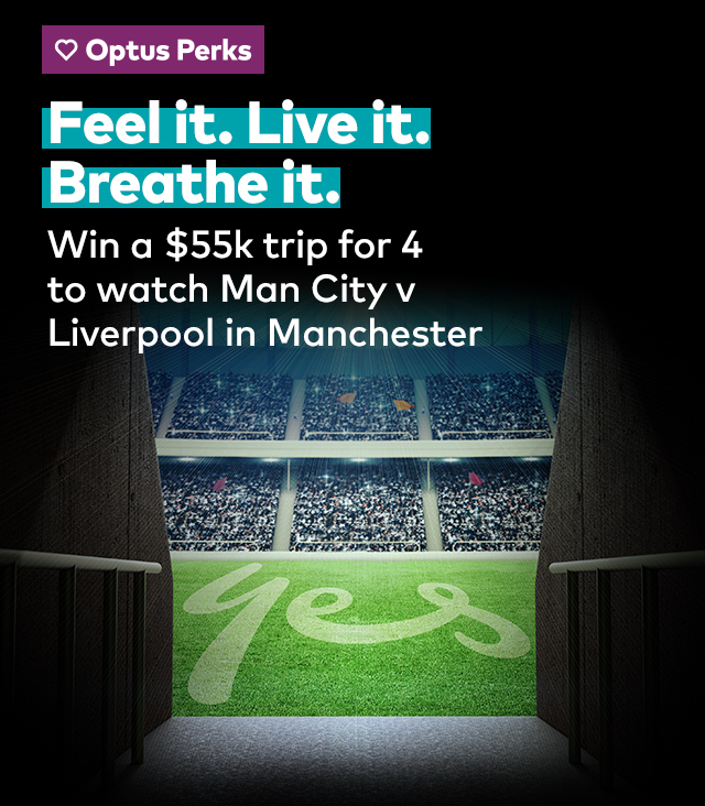 Feel it. Live it. Beathe it. Win a $55k trip for 4 to watch Man City v Liverpool in Manchester