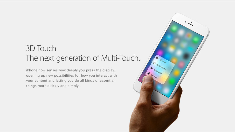 3d touch the new generation of multitouch
