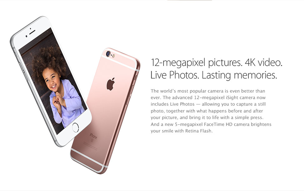 12 megapixel camera 4k video